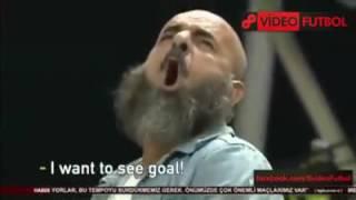 Çılgınca gol istiyen Akhisar taraftarı