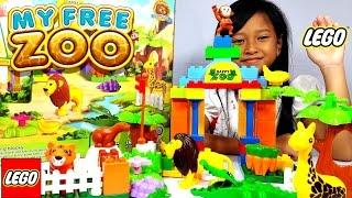Mainan LEGO ZOO PLEASURE 💖 LEGO Kebun Binatang 💖 Lets Play Jessica Jenica