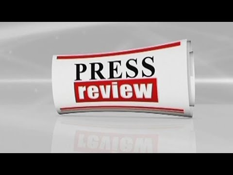 Press Review - 14/05/2018