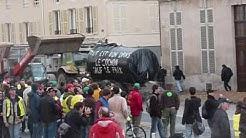 Manifestation des agriculteurs le16 10 09 à Chalons en Champagne