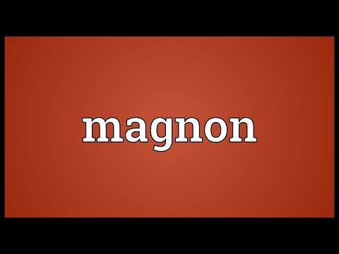 Magnon Meaning