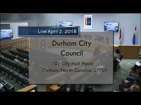 Durham City Council Apr 2 2018 Youtube