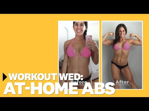 8-Minute At-Home Ab Workout With Autumn Calabrese | #WorkoutWednesday | Women's Health
