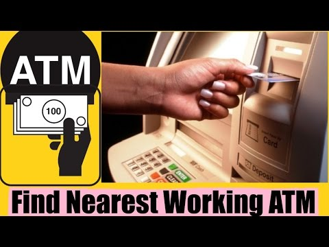 How To Find ATM with Cash near you? | ATM with Cash | working ATM