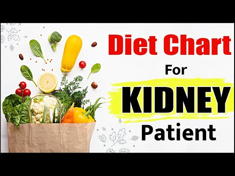 Diet chart for kidney patients - Food products to be used or avoid - food charts