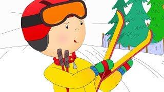 Caillou fait du Ski | Caillou en Français