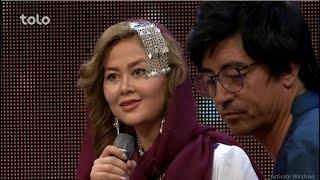 زیر چتر عید - صحنه های جالب - صحبت ها با مصطفی هنرجو و گروه شمامه محبوبه حیدری و صمیه کریمی