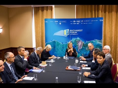 Aspen Initiative for Europe meeting with Federica Mogherini
