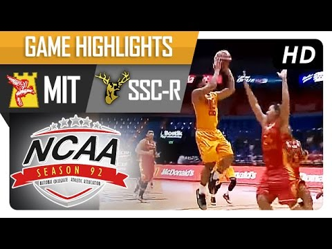 MIT vs. SSC-R | Game Highlights | NCAA 92 - July 22, 2016
