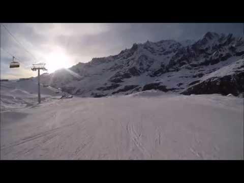 Piste da sci Cervinia: pista Pancheron numero 24