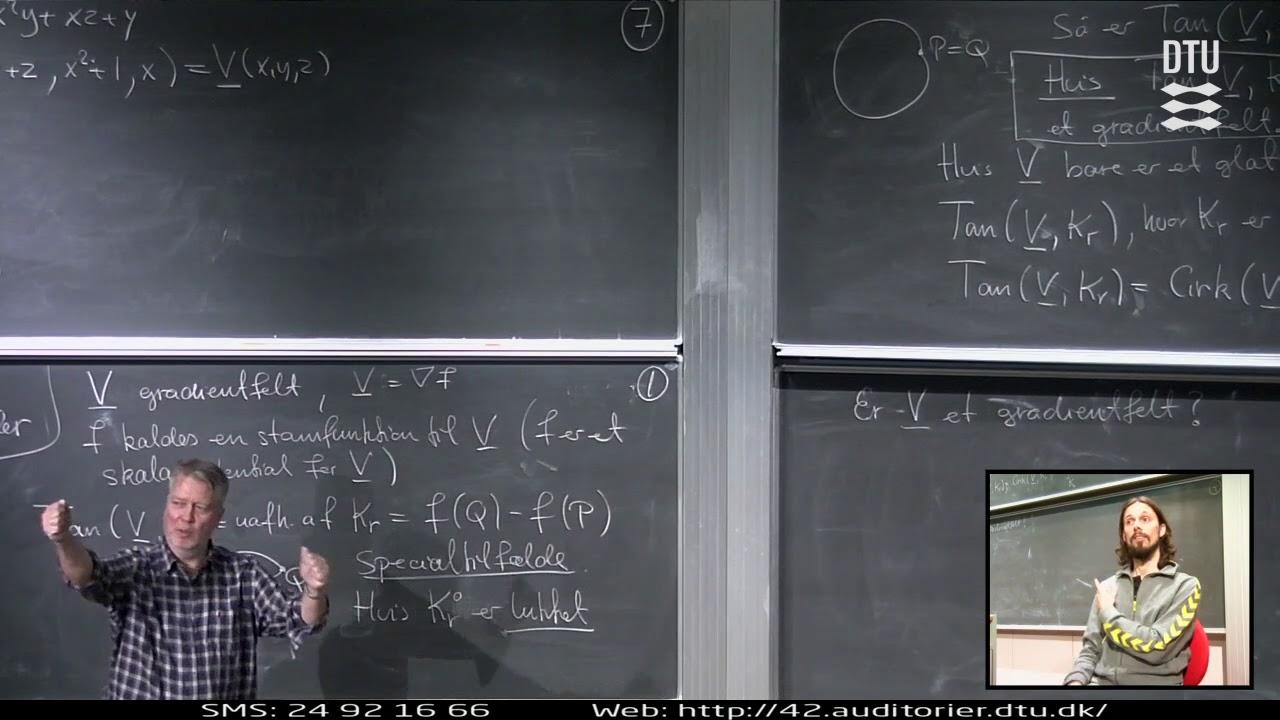 Lek 25 | Matematik 1 - Tangentielt Kurveintegral (Part 2/2)
