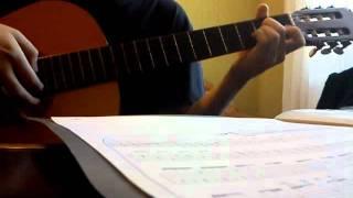 Реквием по мечте на гитаре (самый простой вариант исполнения)