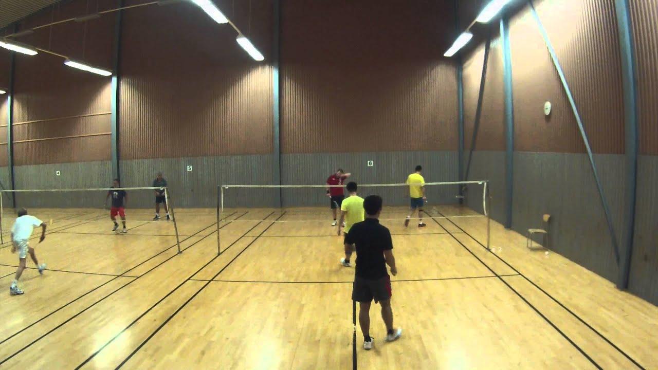Badminton  Sundbybergs Rackethall 2014-11-26 - YouTube 40c8f1d8bb4dd