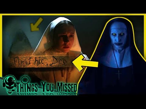 9 Things You Missed In The Nun - Official Teaser Trailer + Full Conjuring Timeline thumbnail