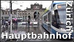 Zürich Hauptbahnhof SBB / Rundgang durch den grösste Bahnhof der Schweiz