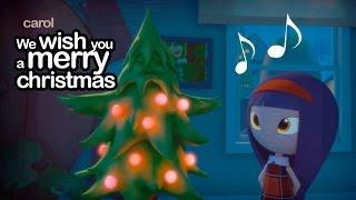 Villancico dibujos We wish you a merry christmas - Pumpkin reports