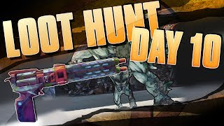 BORDERLANDS 2 | 100k Loot Hunt Day 10: Grendel and The Little Evie!!!