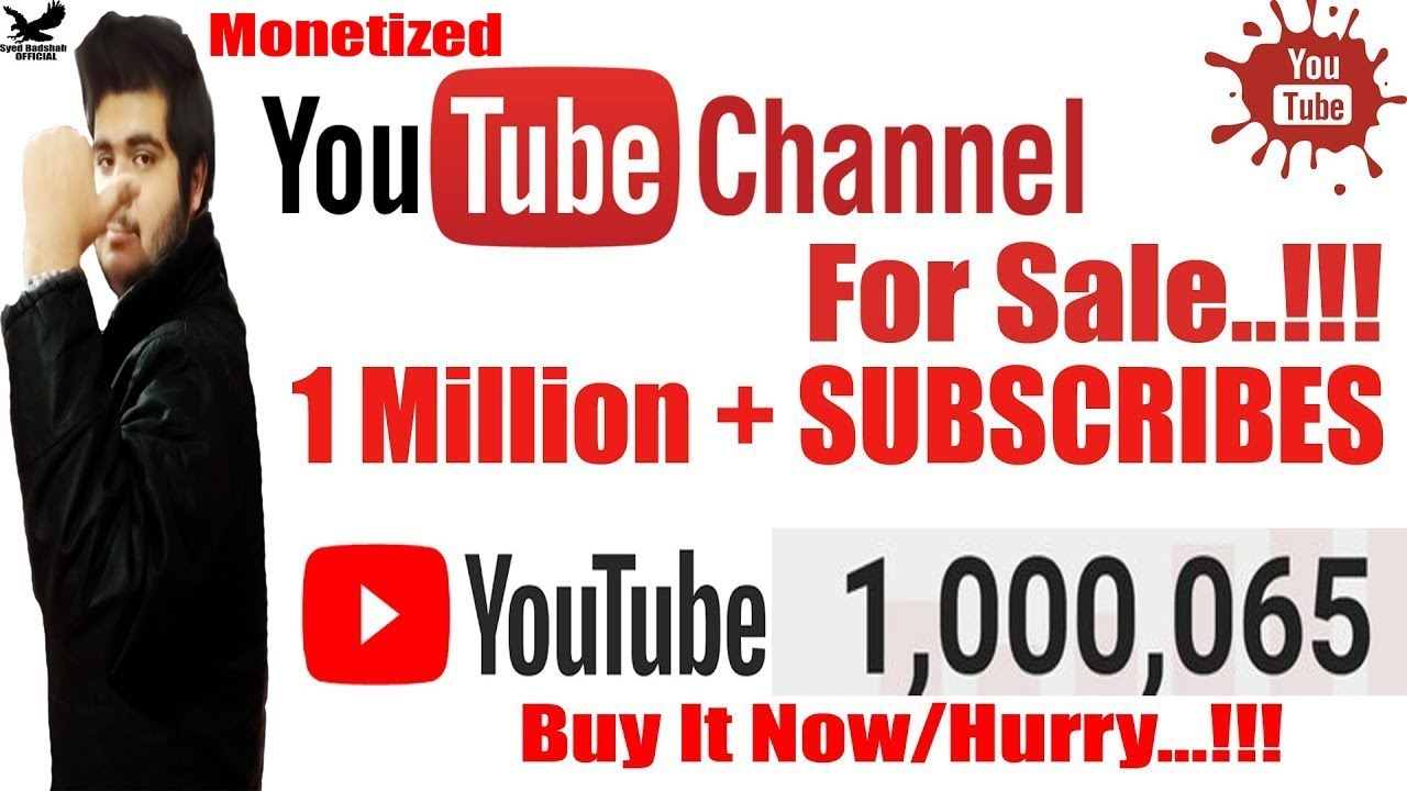 Is Buying & Selling of YouTube Channel Legal ? Does YouTube Allow to buy  /Sell it