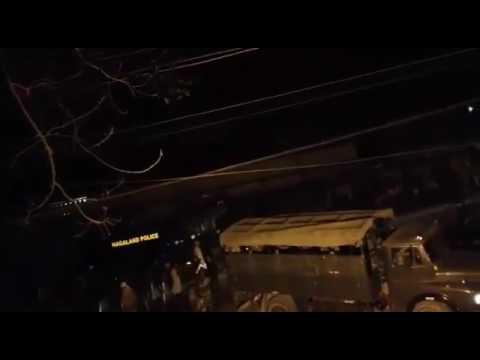 Dimapur violence January 31st Night.