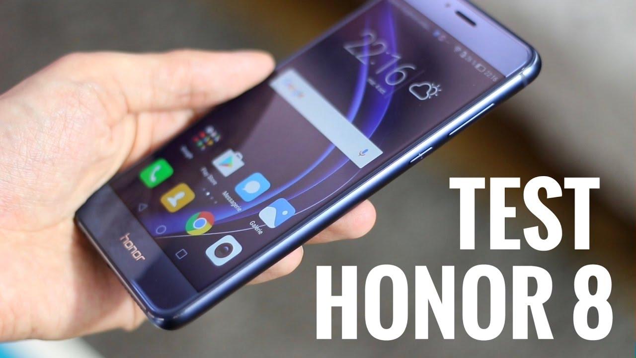 TEST Honor 8 - High Tech smartphone à moins de 400€ - YouTube