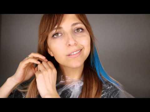 geçici renkli saç boyama loreal hair chalk youtube