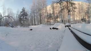 360 video VR | птицы зимой в парке(Мороз -35 градусов... видео 360 градусов., 2016-12-18T08:28:00.000Z)