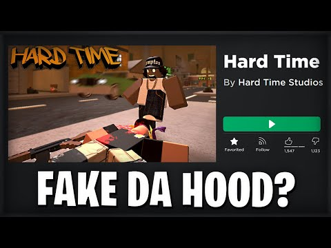 so i played a roblox da hood ripoff... (Hard Time) |