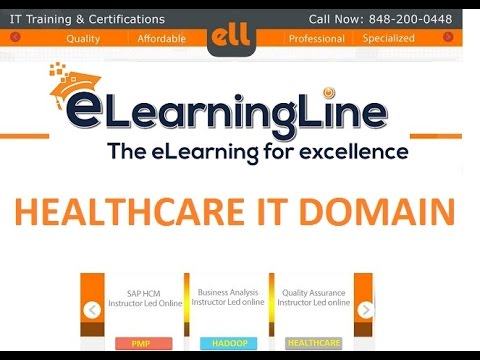 BA Healthcare IT Domain Training Demo  for QA and BA by ELearningLine @848-200-0448