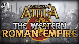 Video Total War: Attila - Pagan Western Roman Empire Campaign #1 - Stabilizing The Empire download MP3, 3GP, MP4, WEBM, AVI, FLV Agustus 2017
