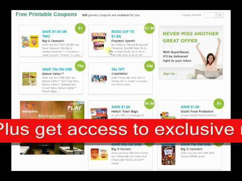 How to Get Online Coupons and Gift Cards
