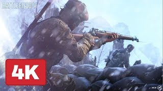 Battlefield 5: Sniper and Ground Combat Gameplay at 4K 60fps - E3 2018