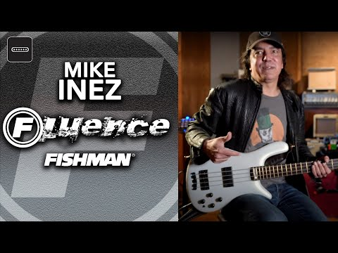Fishman Mike Inez Legacy Bass Pickups (Playthrough)