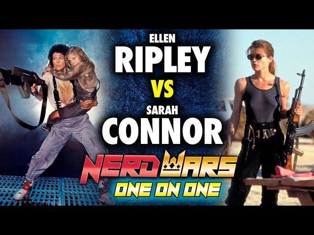 Aliens' Ellen Ripley vs Terminator's Sarah Connor: Who'd Win? - Nerd Wars
