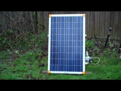 100 WATT SOLAR PANELS PART 1