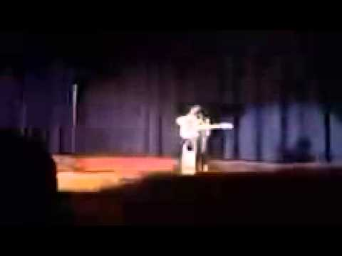 Me playing guitar at the vernal middle school talent show 2014
