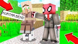 FAKİR KÖYDE KAÇIRILDI! 😱 - Minecraft