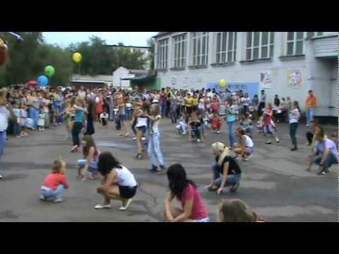 Флешмоб, посвященный Дню Молодежи в Кувандыке)