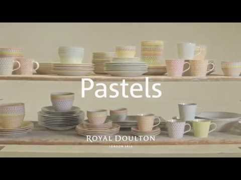Royal Doulton: Pastels Tableware