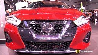 2020 Nissan Maxima Platinum - Exterior and Interior Walkaround - 2019 NY Auto Show
