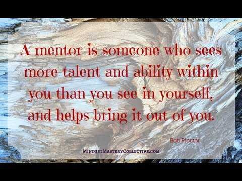 Why mentors are so important: The Slight Edge chapter 13