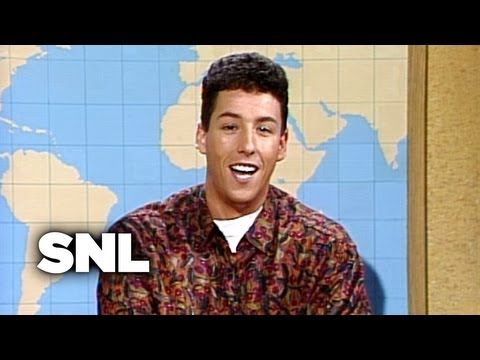 Travel Correspondent Adam Sandler - Saturday Night Live