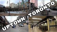 Uptown Toronto - Sheppard to Finch in North York [4K]