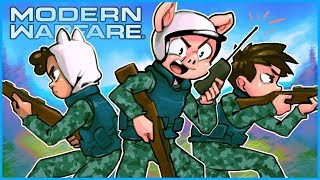 Modern Warfare 3v3 Gunfight but we don't lose a single game...