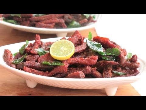 Beef Dry Fry  // ബീഫ് ഡ്രൈ ഫ്രൈ // Fadwas Kitchen Special // Recipe : 44