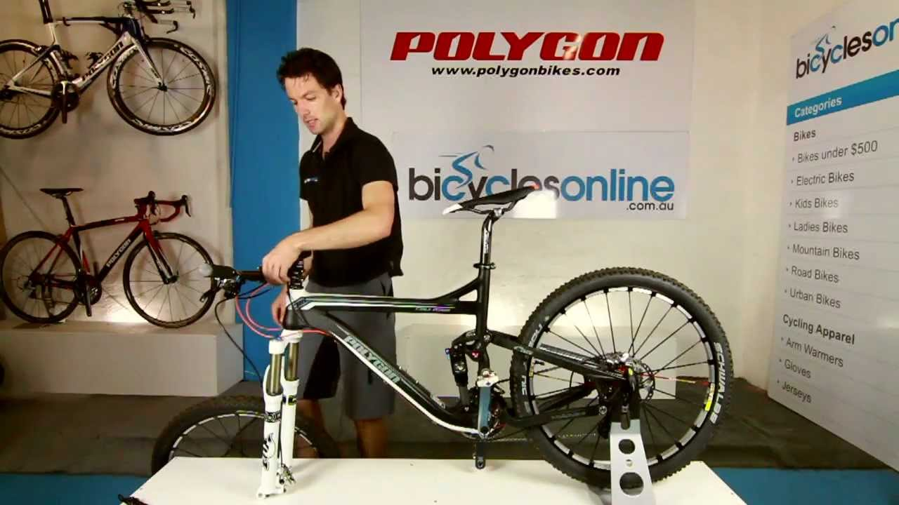 How To Install A 15mm Thru Axle On A Mountain Bike Youtube