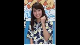 日本テレビ新人の笹崎里菜アナウンサー(23)が7月24日、東京・汐...
