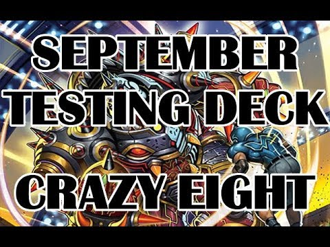 [Cardfight Vanguard] September Testing Deck Profile - Crazy Eight Spike Brothers