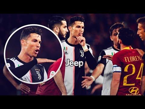 Cristiano Ronaldo Maçın Ortasında Rakibini Aşağıladı ..!!