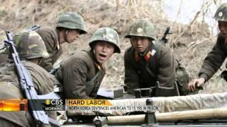 N. Korea sentences American to 15 years hard labor