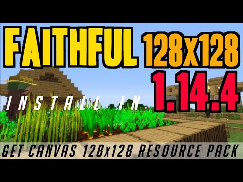Best Minecraft Texture Packs 2020.How To Get Faithful Textures In Minecraft 1 14 4 Download Faithful 128x128 1 14 4 Texture Pack